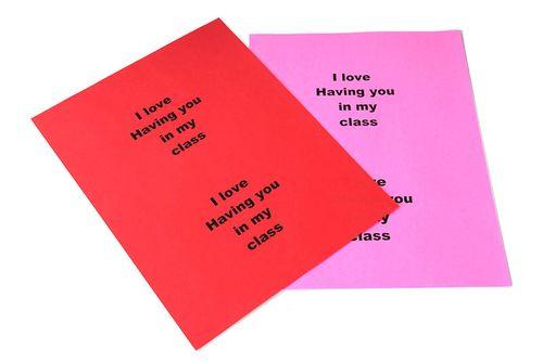 Valentine Card For Teacher Message Valentine Day – Valentine Cards with Messages
